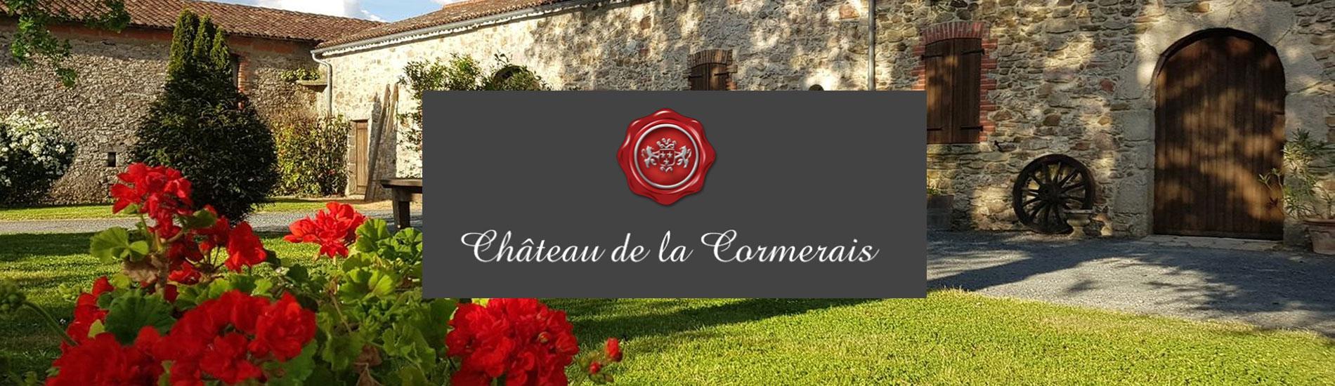 CHÂTEAU DE LA CORMERAIS